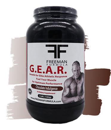 G.E.A.R. Pre and Post Training Fuel - Chocolate  | Freeman Formula Supplements