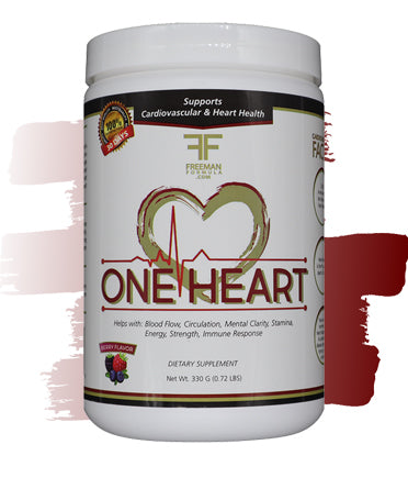 One Heart- Cardiovasular & Heart Health Support | Freeman Formula Supplements