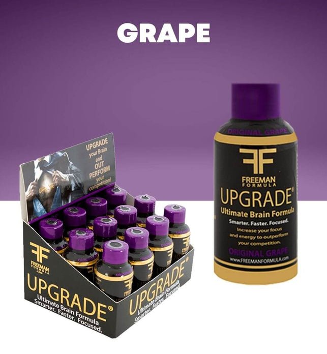 Grape 12-Pack | UPGRADE - Ultimate Brain Energy Formula