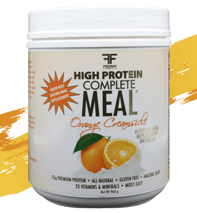 Orange Creamsicle Complete Meal Replacement | 24 Serving Container