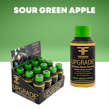 Sour Green Apple 12-Pack | UPGRADE - Ultimate Brain Energy Formula