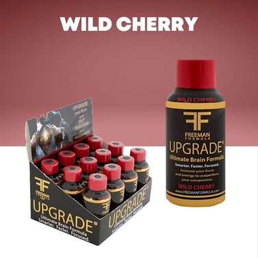Wild Cherry 12-Pack | UPGRADE - Ultimate Brain Energy Formula
