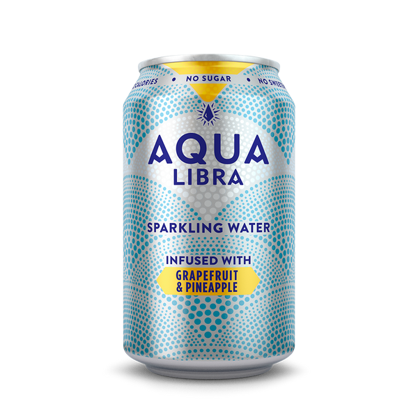 Picture of can of Aqua Libra Grapefruit and Pineapple