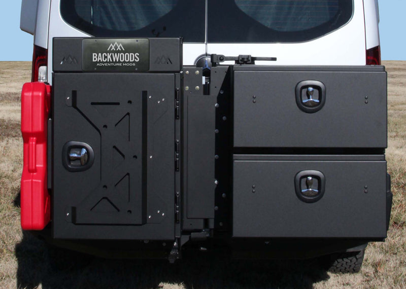 Mercedes Sprinter (2019+) Rear Swing Out Bumper