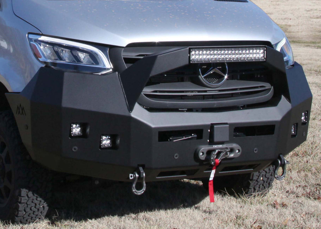 Mercedes Sprinter (2019+) Front Bumper with Bull Bar