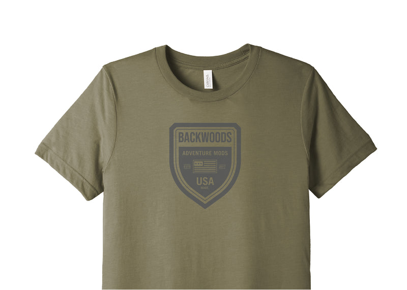 Backwoods Badge T-Shirt