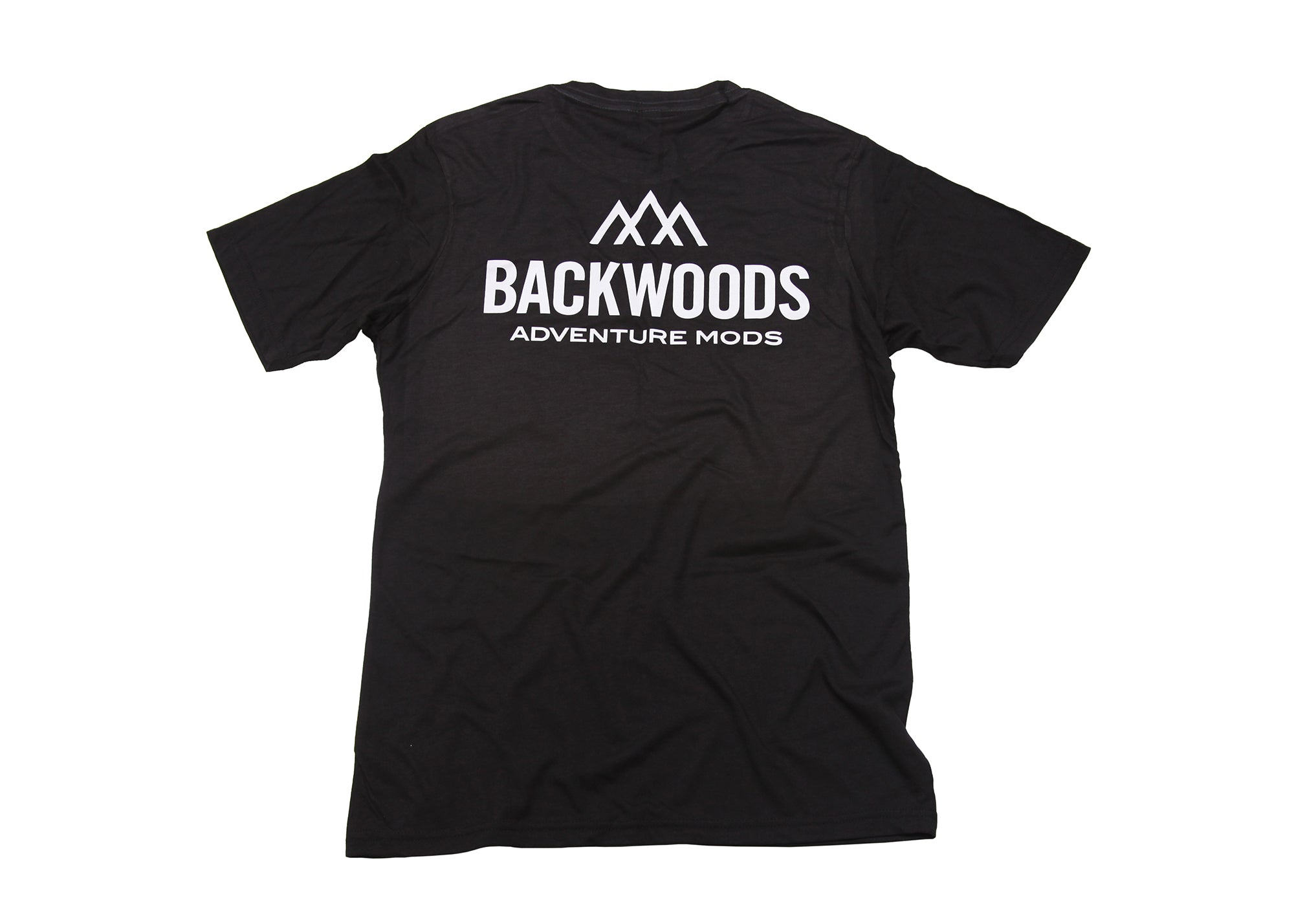 Backwoods Short Sleeve T-Shirt - Black