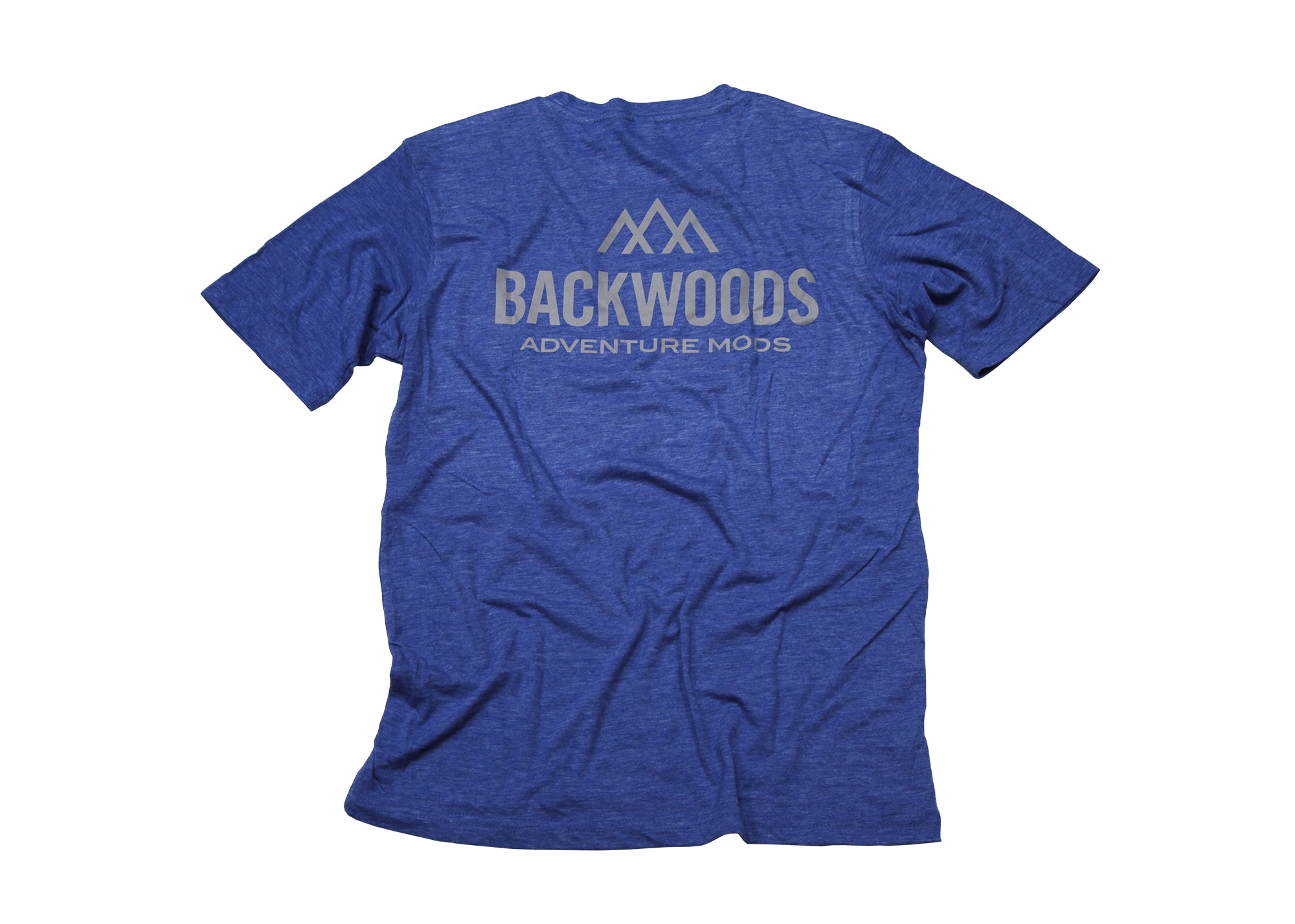 Backwoods Short Sleeve T-Shirt - Blue