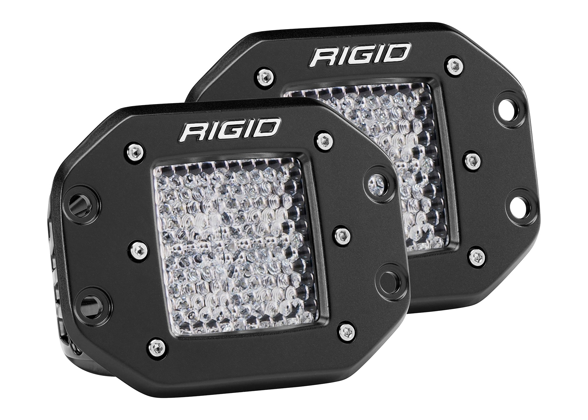 RIGID D-PRO Flush Mount Pair