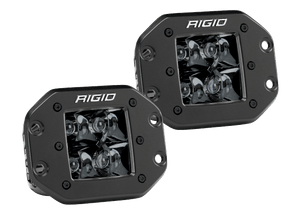 RIGID D-PRO MIDNIGHT Flush Mount Pair
