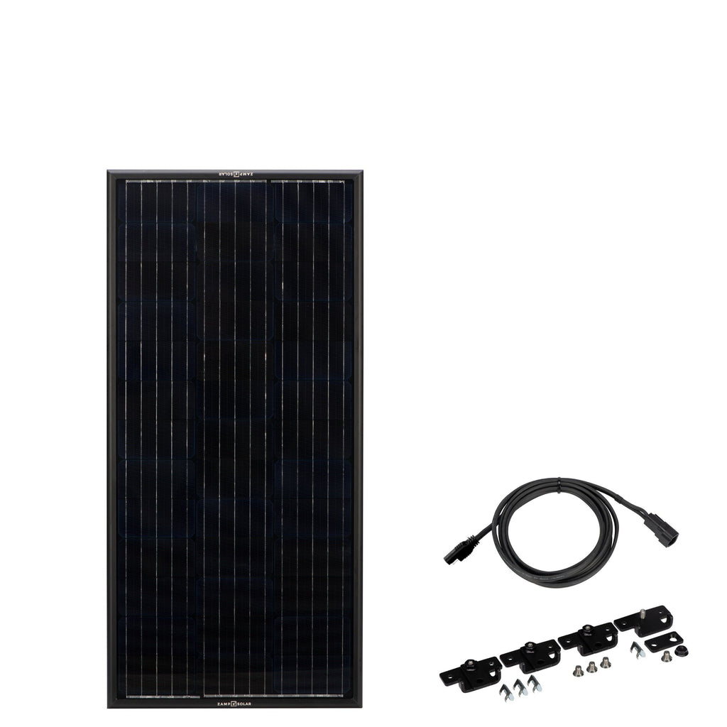 ZAMP SOLAR PANEL KIT - OBSIDIAN - 45 WATT