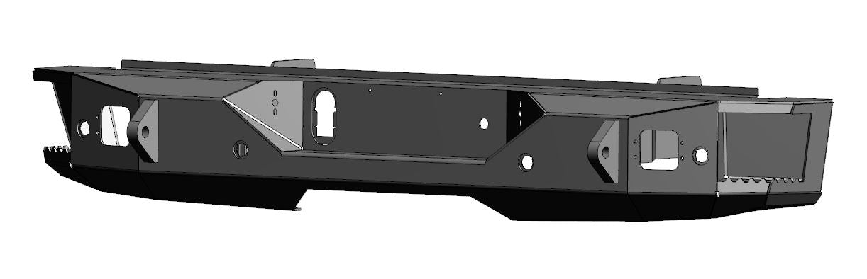 Ford - F250/F350 (2011-2016) Rear Bumper