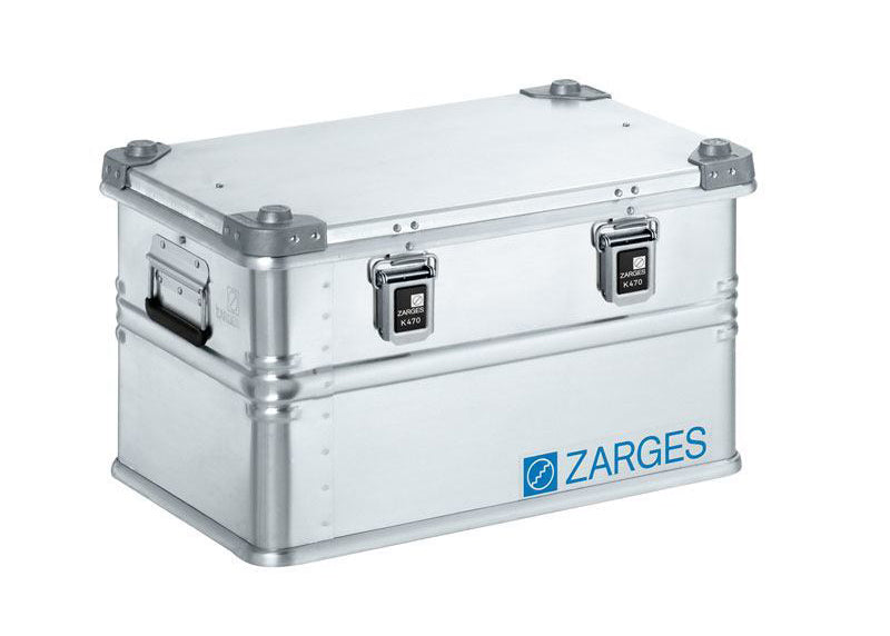 Zarges K470 Aluminum Stackable Storage Box - LARGE