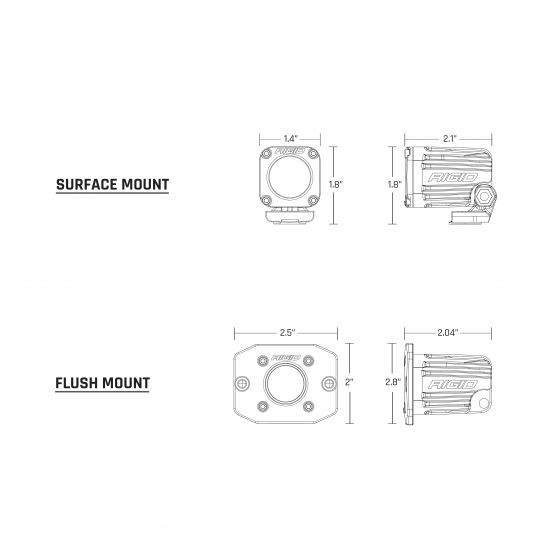 RIGID IGNITE - Flush Mount
