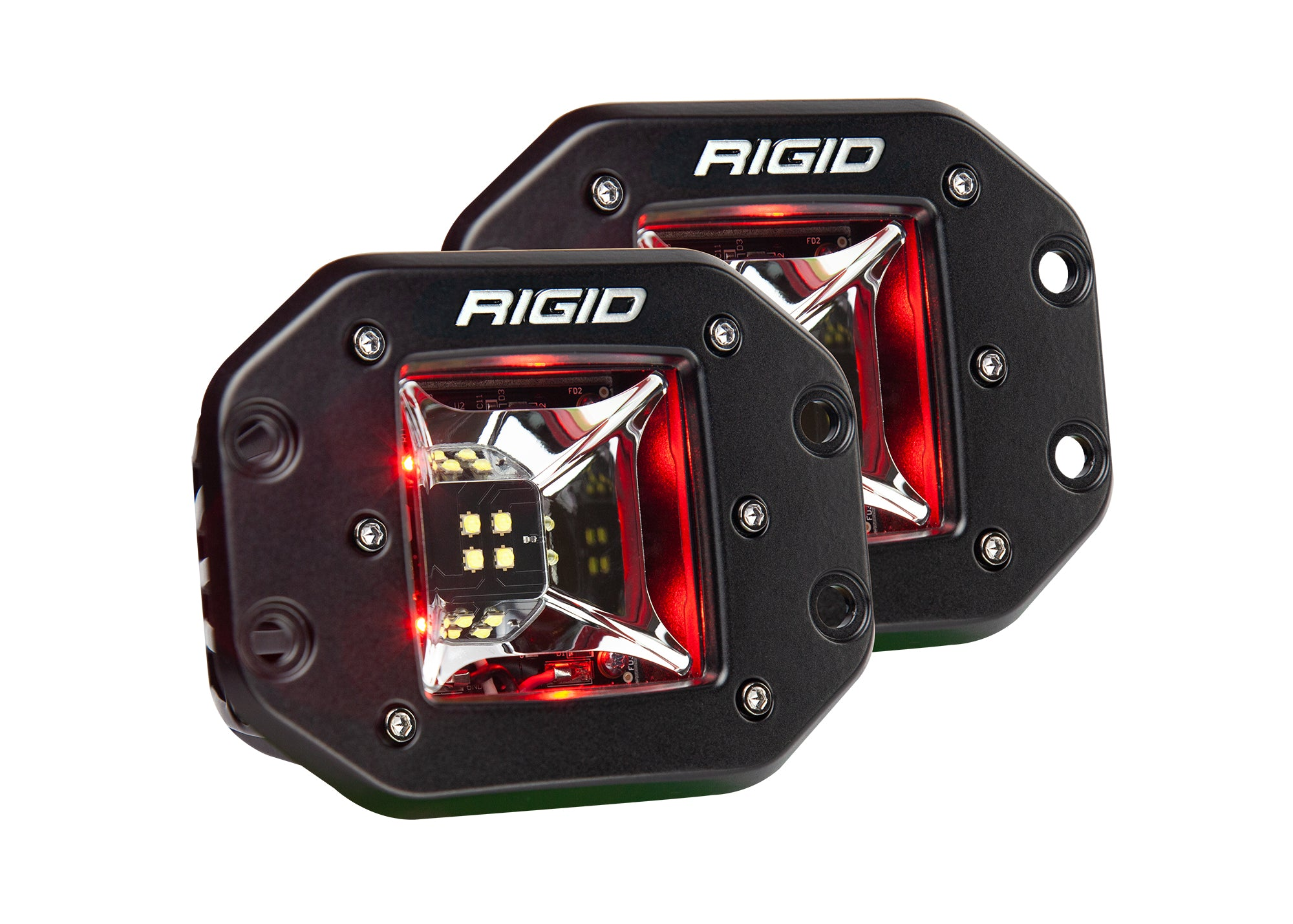 RIGID RADIANCE SCENE Flush Mount Pod