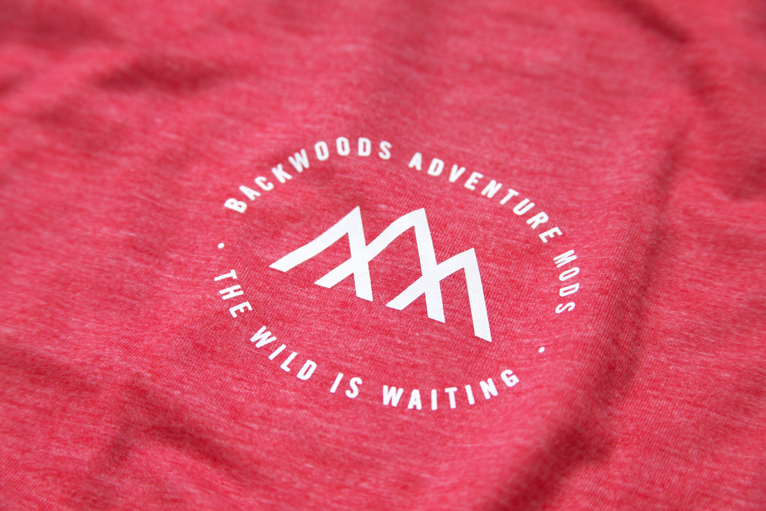 Backwoods Sunset T-Shirt - Red