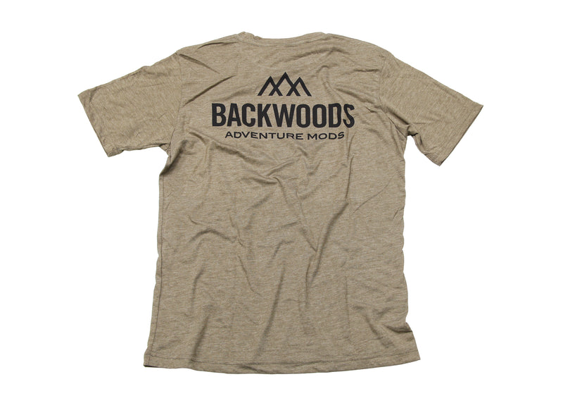 Backwoods Short Sleeve T-Shirt - Desert Sand
