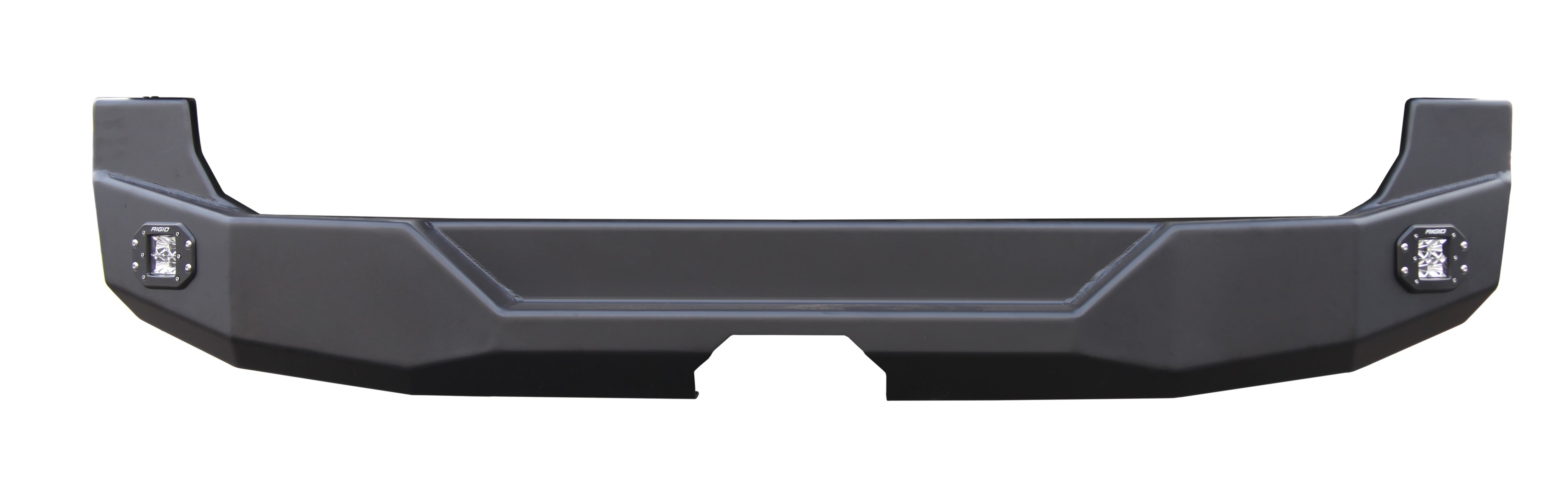 Backwoods Rear Mercedes Sprinter off-road bumper with black powder coat