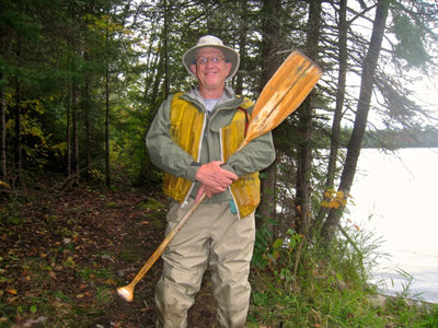 Growing Old Together: A Canoeist and His Paddle