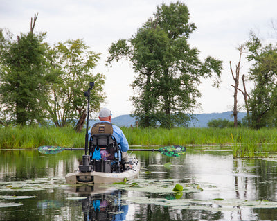 """Why I Kayak Fish"""