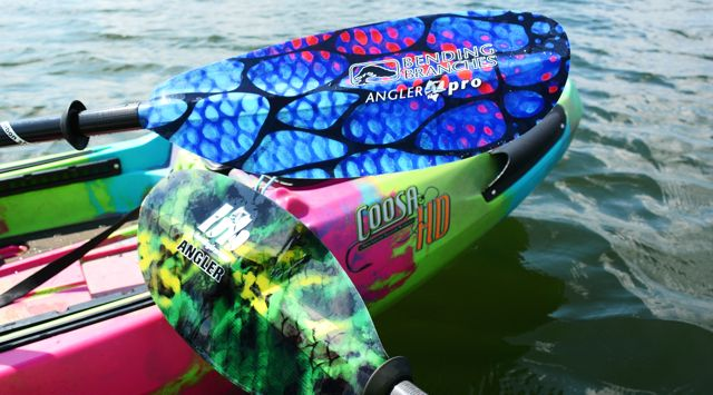 Bending Branches' Angler Pro paddle