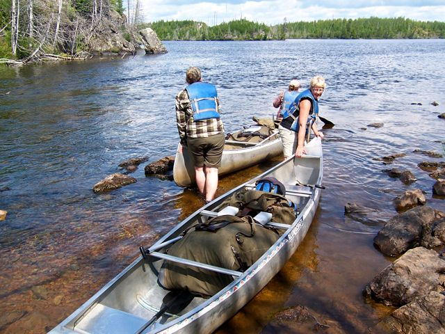 Boundary waters portage