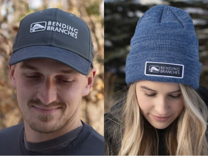 bending branches hats