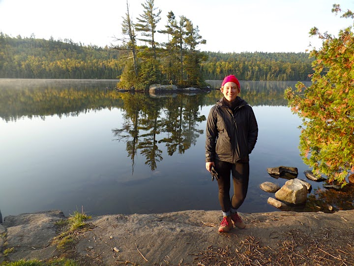 morning in the boundary waters