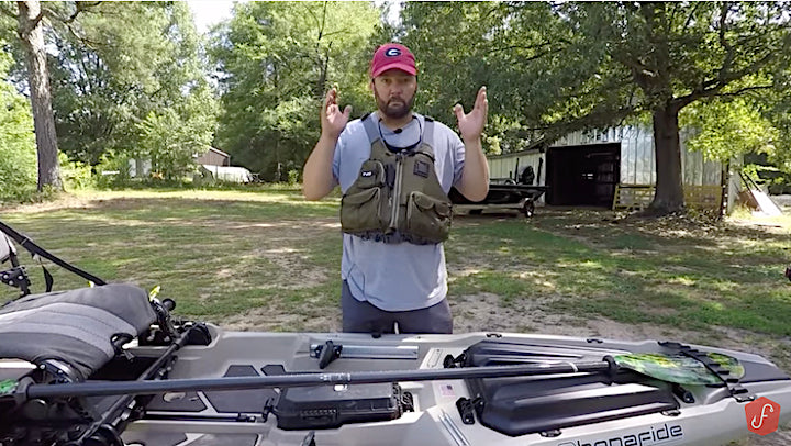 how to rig your fishing kayak