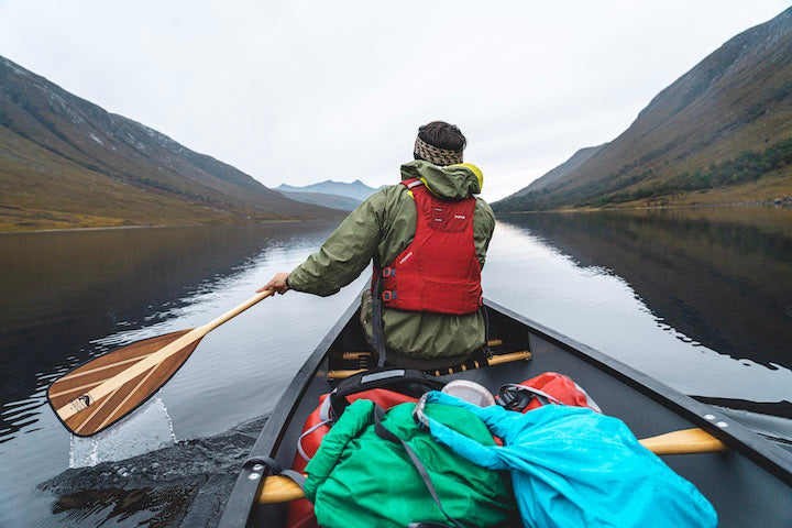 canoeing scottish highlands