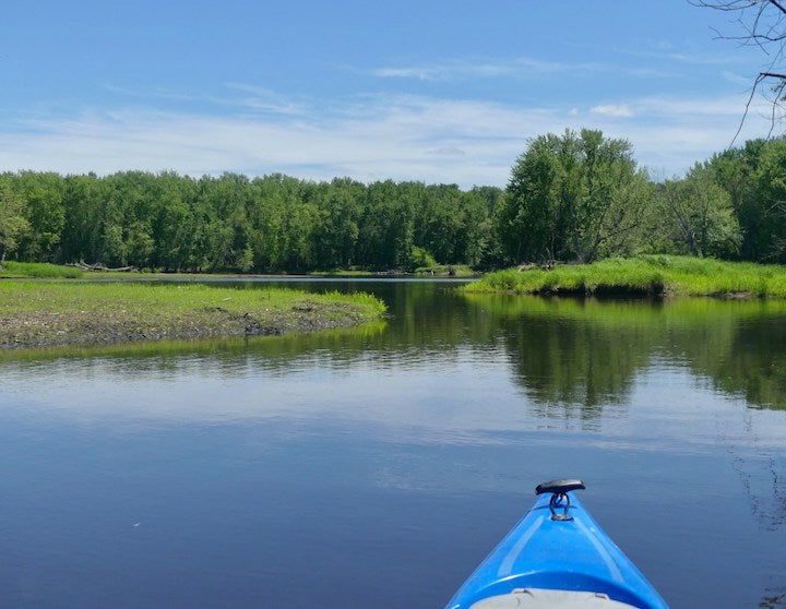 kayak on the st croix river