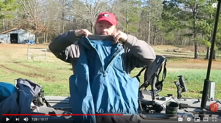 clothes for cold weather kayak fishing