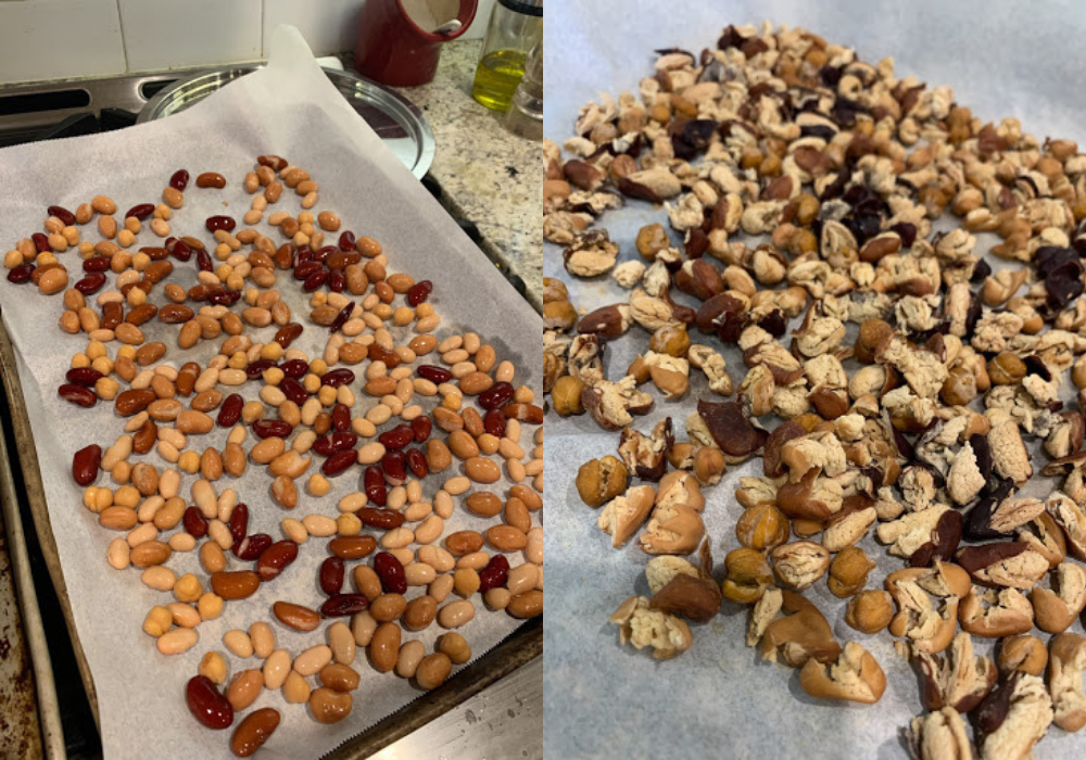 dehydrated beans