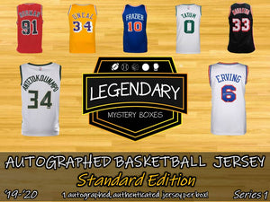 Autographed Basketball Jersey - Standard Edition '19-'20 Series 1