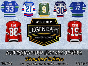Autographed Hockey Jersey - Standard Edition '19-'20 Series 1