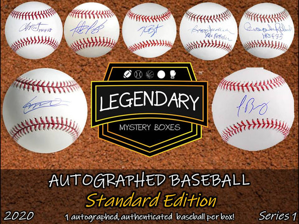 Autographed Baseball - Standard Edition 2020 Series 1 (8-BOX CASE)