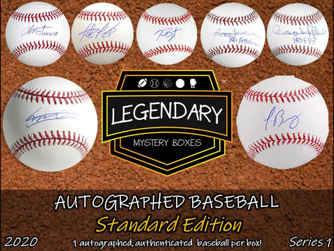Autographed Baseball - Standard Edition 2020 Series 1