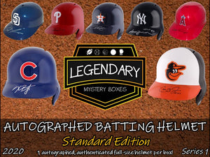 Autographed Batting Helmet - Standard Edition 2020 Series 1 (8-BOX CASE)