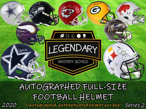 Autographed Full-Size Helmet - Standard Edition 2020 Series 2