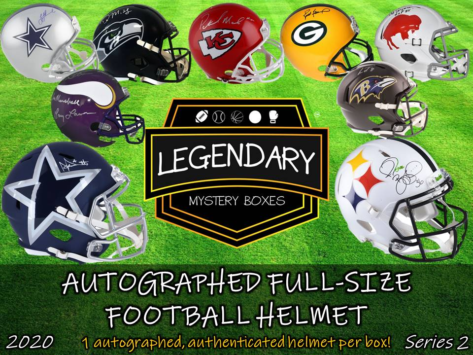 Autographed Full-Size Helmet - Standard Edition 2020 Series 2 (4-BOX CASE)