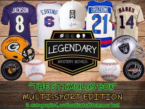 🚨THE STIMULUS BOX🚨 Multi-Sport Edition - 3 ITEMS! $350+ Retail Value Per Box!