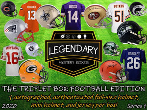 """The Triplet Box"": Football Edition - 2020 Series 1 (4-BOX CASE)"