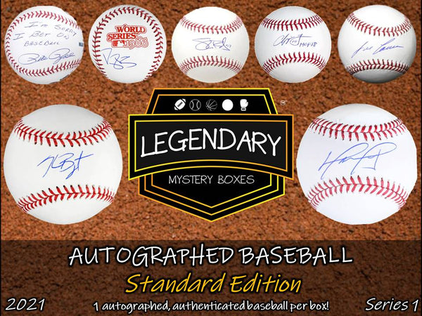 Autographed Baseball - Standard Edition 2021 Series 1 (8-BOX CASE)