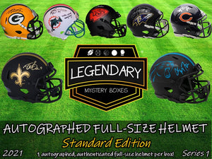Autographed Full-Size Helmet - Standard Edition 2021 Series 1