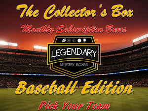 *NEW* The Collector's Box - Pick Your Team - Baseball Edition Monthly Subscription Box