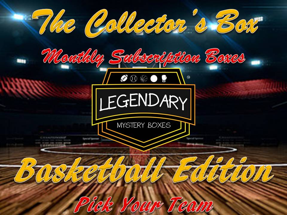 *NEW* The Collector's Box - Pick Your Team - Basketball Edition Monthly Subscription Box