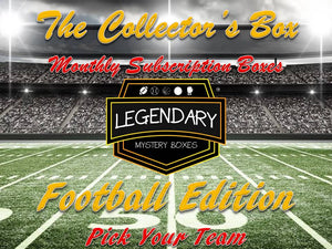 *NEW* The Collector's Box - Pick Your Team - Football Edition Monthly Subscription Box
