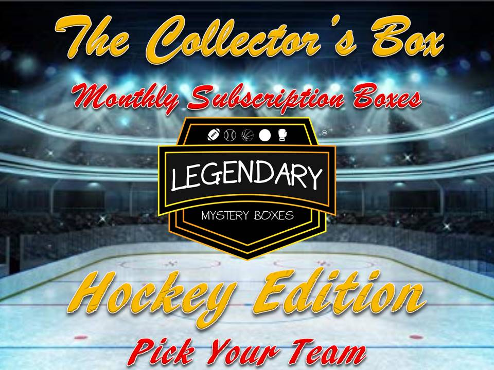 *NEW* The Collector's Box - Pick Your Team - Hockey Edition Monthly Subscription Box