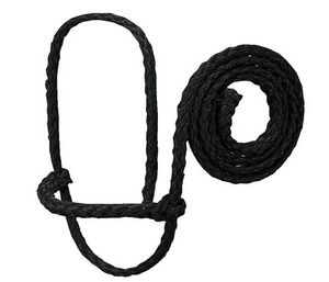 Poly Rope Sheep Halter, Black
