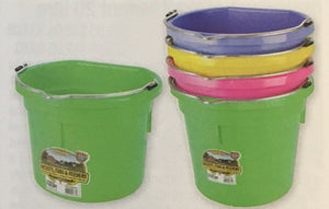 Showmaster Flat Back Bucket Heavy Duty Blue, Red, Green, Pink, Purple, Yellow.